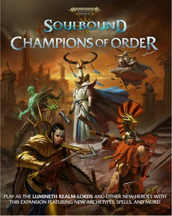 Warhammer Age of Sigmar RPG: Soulbound - Champions of Order