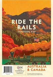 Iron Rail: 2 - Ride the Rails - Australia & Canada Map Expansion