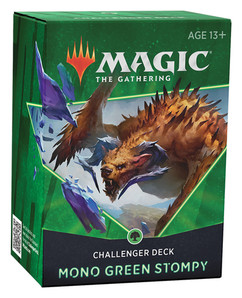 Magic: The Gathering - Mono Green Stompy 2021 Challenger Deck