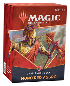 Magic: The Gathering - Mono Red Aggro 2021 Challenger Deck