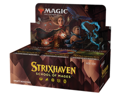 Magic: The Gathering - Strixhaven - School of Mages Draft Booster Box (Bulk Discounts)