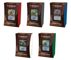 Magic: The Gathering - Strixhaven - School of Mages Commander Deck (Set of 5) (On Sale)