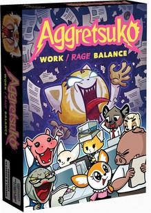Aggretsuko: Work / Rage Balance