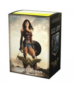 Dragon Shield: Justice League Wonder Woman - Art, Matte Card Sleeves (100ct)