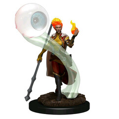 Dungeons & Dragons: Icons of the Realms Premium Miniatures - Female Fire Genasi Wizard (Wave 6) (PREORDER)