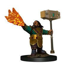 Dungeons & Dragons: Icons of the Realms Premium Miniatures - Male Dwarf Cleric (Wave 6)
