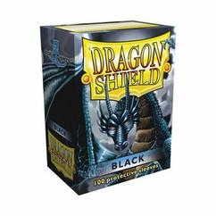 Dragon Shield Black Standard Size Card Sleeves (100)