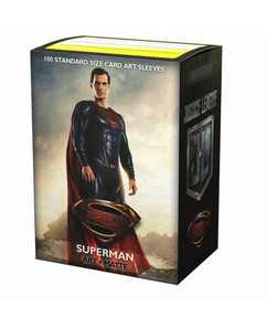 Dragon Shield: Justice League Superman - Art, Matte Card Sleeves (100ct)