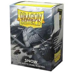 Dragon Shield: Snow - Matte Dual Card Sleeves (100ct) (PREORDER)