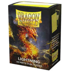 Dragon Shield: Lightning - Matte Dual Card Sleeves (100ct) (PREORDER)