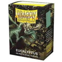 Dragon Shield: Eucalyptus - Matte Dual Card Sleeves (100ct) (PREORDER)