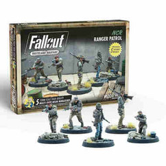 Fallout: Wasteland Warfare - NCR Ranger Patrol