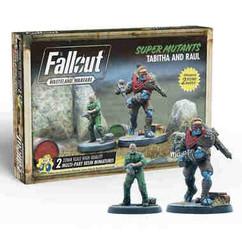 Fallout: Wasteland Warfare - Super Mutants Tabitha & Raul