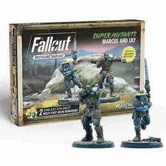 Fallout: Wasteland Warfare - Super Mutants Marcus & Lily
