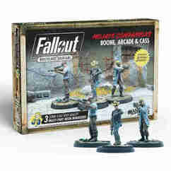 Fallout: Wasteland Warfare - Mojave Companions Boone, Arcade, & Cass
