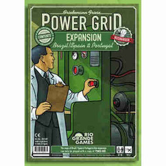 Power Grid: Brazil / Spain & Portugal Expansion - Recharged Version
