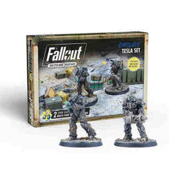 Fallout: Wasteland Warfare - Enclave Tesla Set Expansion