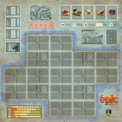 Tiny Epic Quest: Game Mat