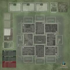 Tiny Epic Zombies: Game Mat