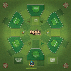 Tiny Epic Western: Game Mat