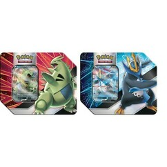 Pokemon: Tyranitar & Empoleon V Strikers Tin (Set of 2)