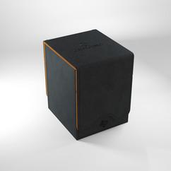 Game Genic Deck Box: Squire 100+ XL Convertible (Black/Orange)