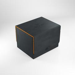 Game Genic Deck Box: Sidekick 100+ XL Convertible (Black/Orange)