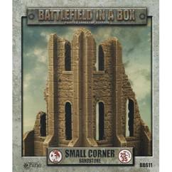 Battlefield in a Box: Small Corner Sandstone - Gothic Battlefields