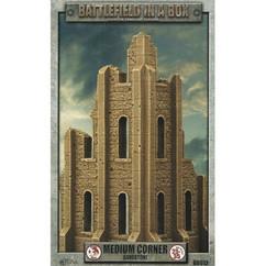 Battlefield in a Box: Medium Corner Sandstone - Gothic Battlefields