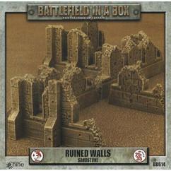 Battlefield in a Box: Ruined Walls Sandstone - Gothic Battlefields
