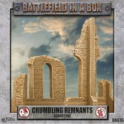 Battlefield in a Box: Crumbling Remnants Sandstone - Gothic Battlefields