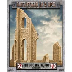 Battlefield in a Box: The Broken Facade Sandstone - Gothic Battlefields