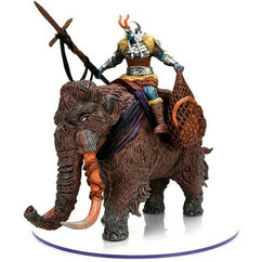 Dungeons & Dragons Miniatures: Icons of the Realms - Snowbound - Frost Giant & Mammoth