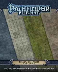 Pathfinder Flip Mat: Basic Terrain Multi Pack