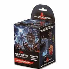 Dungeons & Dragons Miniatures: Icons of the Realms - Monster Menagerie  Booster Pack