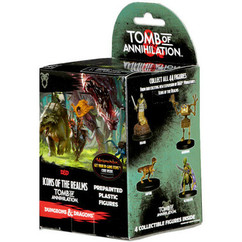 Dungeons & Dragons Miniatures: Icons of the Realms - Tomb of Annihilation Booster Pack