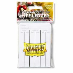 Dragon Shield: Life Ledger Scorepad Refills (3ct)