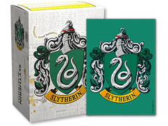 Dragon Shield: Harry Potter Slytherin -  Art, Brushed Card Sleeves (100ct)
