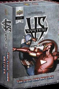 VS System 2PCG: Marvel - Civil War Battles Vol. 4, Issue 4