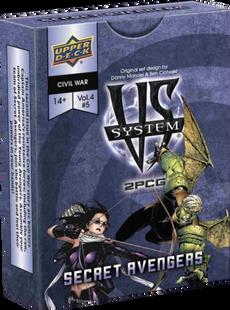VS System 2PCG: Marvel - Secret Avengers Vol. 4, Issue 5