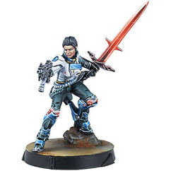 Infinity: Code One - O-12 Shona Carano, Aristeia! Swordmaster (Submachine Gun)