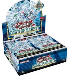 Yu-Gi-Oh!: Dawn of Majesty Booster Box 1st Edition (Bulk Discounts)
