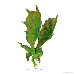 Dungeons & Dragons Miniatures: Icons of the Realms - Adult Green Dragon (PREORDER)