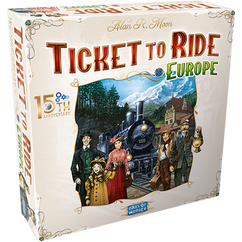 Ticket to Ride: Europe 15th Anniversary