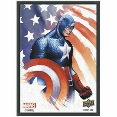 Upper Deck Sleeves: Marvel - Captain America (65ct)
