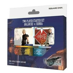 Final Fantasy Trading Card Game: FFVII Remake Avalanche vs. Shinra - Two-Player Starter Set (PREORDER)