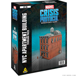 Marvel Crisis Protocol: NYC Apartment Building - Terrain Pack