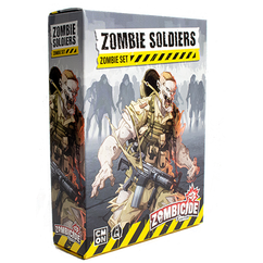Zombicide 2nd Edition: Zombie Soldiers - Zombie Set