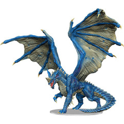 Dungeons & Dragons Miniatures: Icons of the Realms - Adult Blue Dragon Premium Figurine (Ding & Dent)
