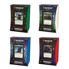 Magic: The Gathering - Adventures in the Forgotten Realms Commander Deck (Set of 4) (PREORDER)